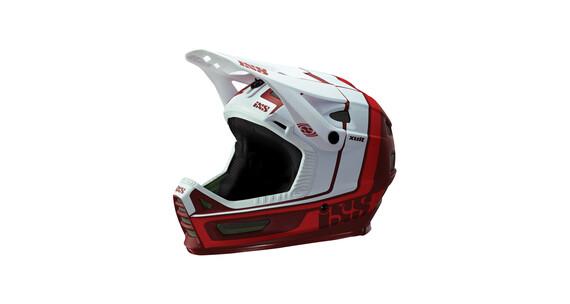 IXS Xult Kask rowerowy czerwony/biały